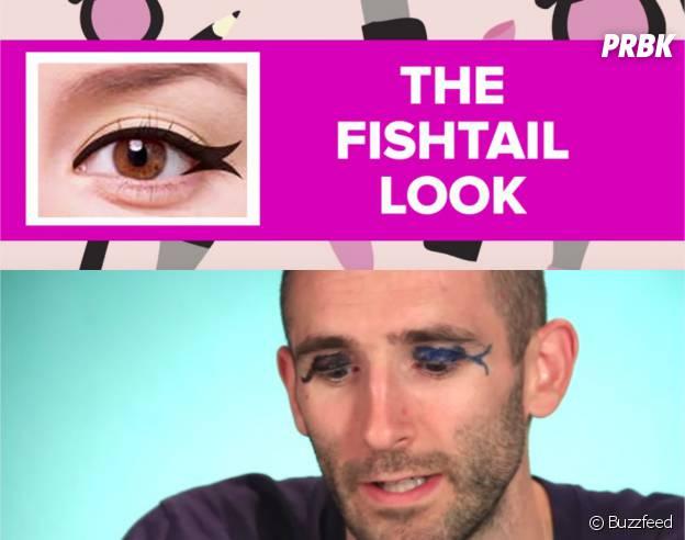 Tuto make up raté : quand des hommes essayent de mettre de l'eye liner !