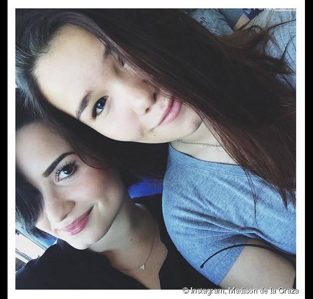 Demi Lovato et Madison de la Graza complices sur Instagram
