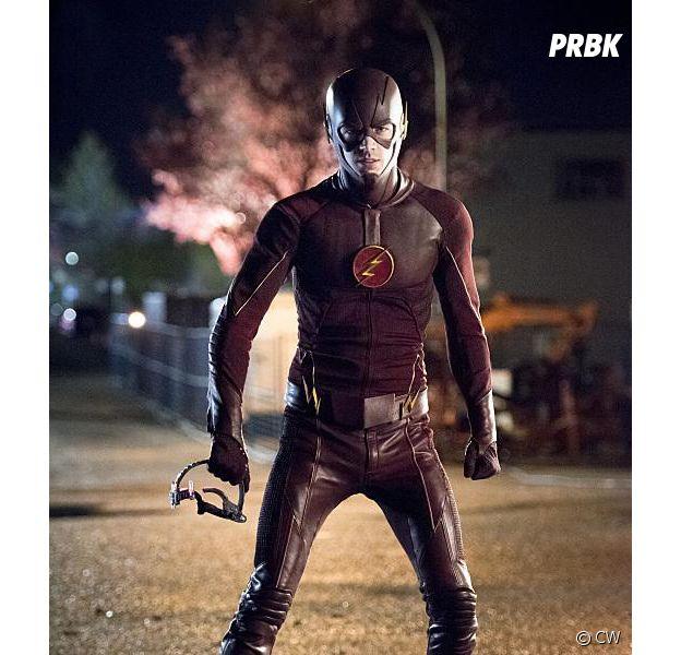 Flash saison 1 : Grant Gustin dévoile sa technique étonnante pour faire tenir son masque