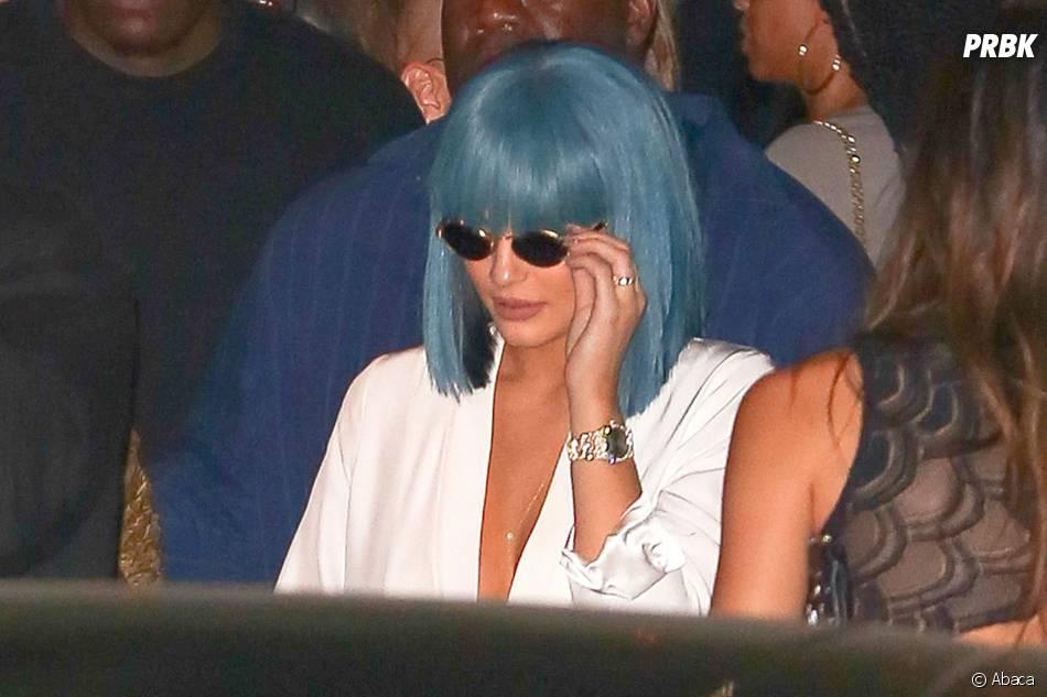 Kylie Jenner et son nouveau style capillaire à Los Angeles le 28 août 2015