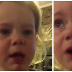 Adorable : une fillette de 2 ans fond en larmes quand son père lui dit qu'elle n'a pas de petit-ami