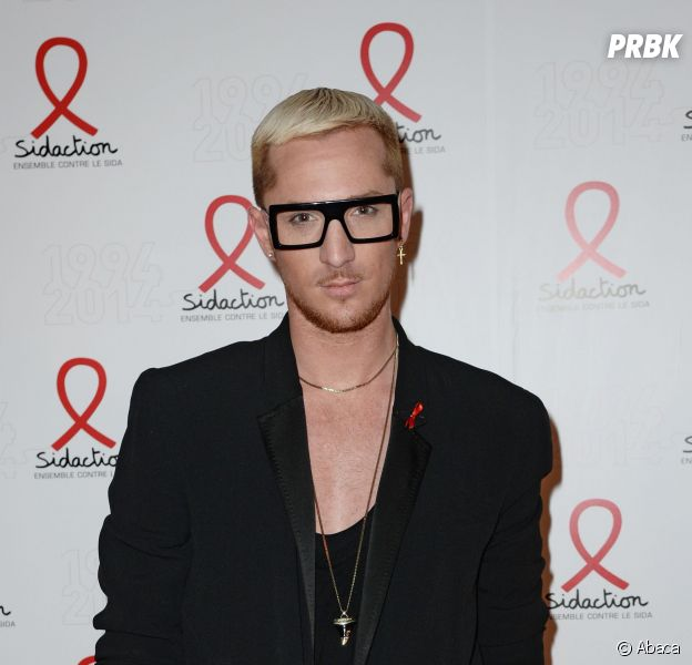 William Carnimolla sur le tapis rouge du Sidaction 2014