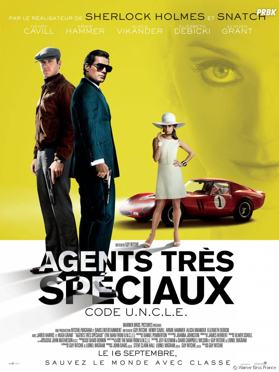 Agents très spéciaux : l'affiche avec Henry Cavill et Armie Hammer
