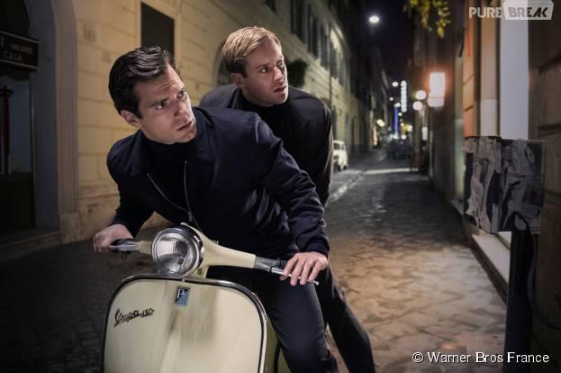 Agents très spéciaux : Henry Cavill et Armie Hammer sur une photo