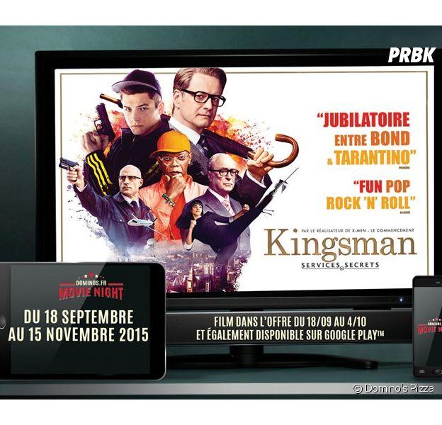 Domino's Pizza lance le menu Movie Night et t'offre un film pour toute commande en livraison