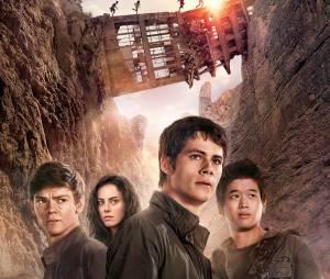 Le Labyrinthe 2 : Dylan O'Brien, Thomas Brodie-Sangster, Kaya Scodelario et Ki Hong Lee sur l'affiche