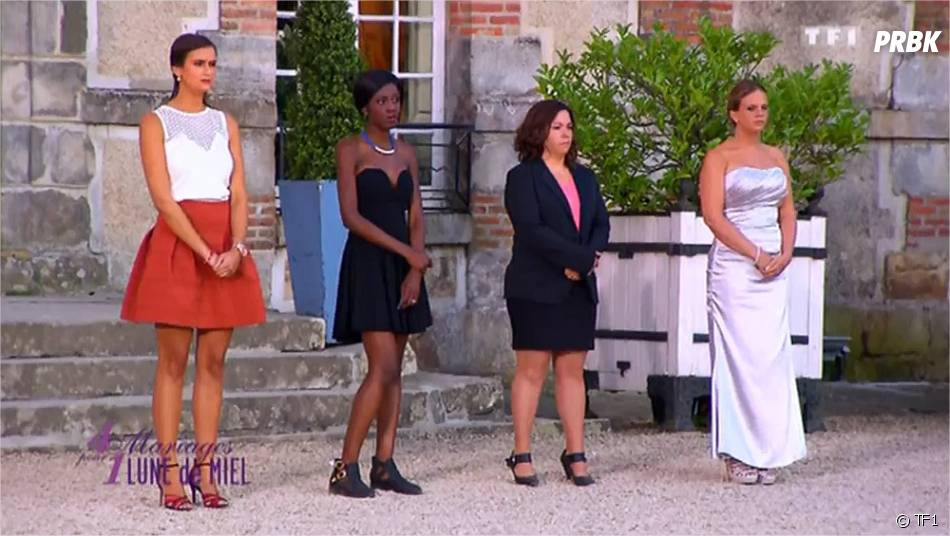 4 mariages pour 1 lune de miel gros clash entre les candidats sur tf1 le 25 septembre 2015. Black Bedroom Furniture Sets. Home Design Ideas