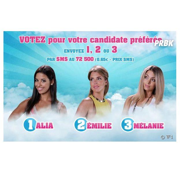Secret Story 9 : Alia, Emilie et Mélanie nominées