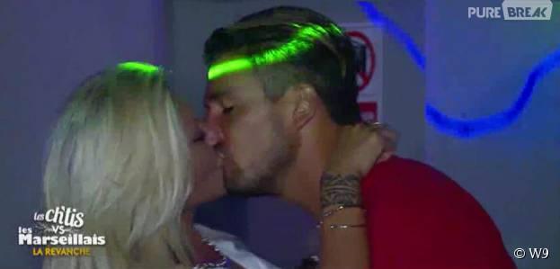 Les Ch'tis VS Les Marseillais : Kevin et Tressia s'embrassent