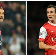 """Zlatan Ibrahimovic insulté par Sébastien Squillaci après Bastia vs PSG : """"T'es qu'une merde"""""""