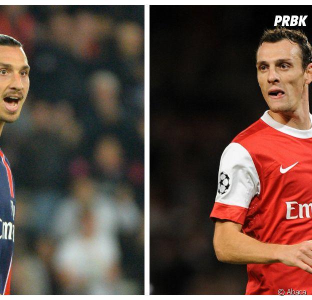 Zlatan Ibrahimovic vs Sébastien Squillaci : clash et insultes après Bastia vs PSG, le 17 octobre 2015