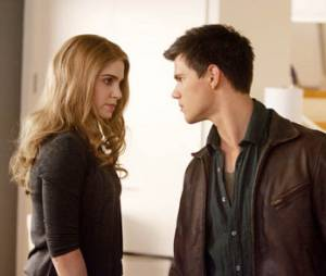 Twilight 4 : Nikki Reed et Taylor Lautner sur une photo