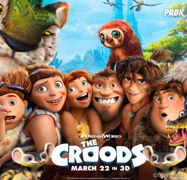 Les Croods : la suite prévue pour 2017