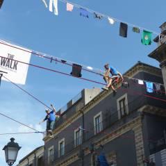 The Walk x RedBull Airlines 2015 : slackline et figures de haut vol en Sicile