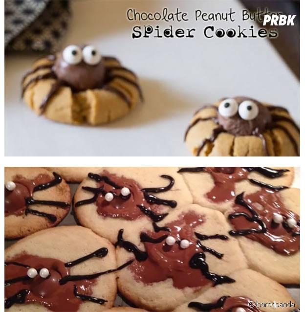 Des spidercookies totalement ratés