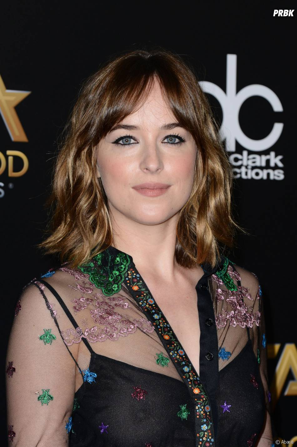 Dakota Johnson sublime aux Hollywood Film Awards, le 1er novembre 2015