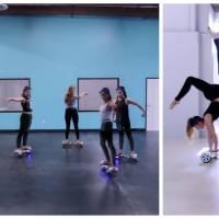 """Elles dansent en hoverboard sur """"Sorry"""" de Justin Bieber : la choré stylée à ne pas louper"""