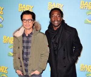 Babysitting 2 : Frederic Chau et Noom Diawaraà l'avant-première du film le lundi 23 novembre au Gaumont Opera à Paris