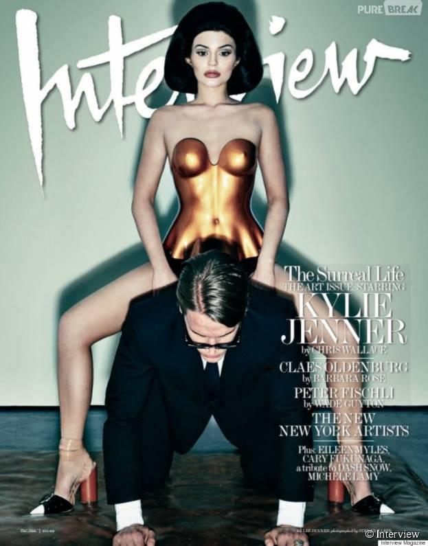 Kylie Jenner sexy en couverture du magazine Interview
