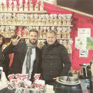 M. Pokora complice avec son papa au marché de Noël de Strasbourg
