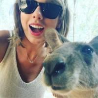 Taylor Swift : son selfie improbable mais adorable avec... un kangourou