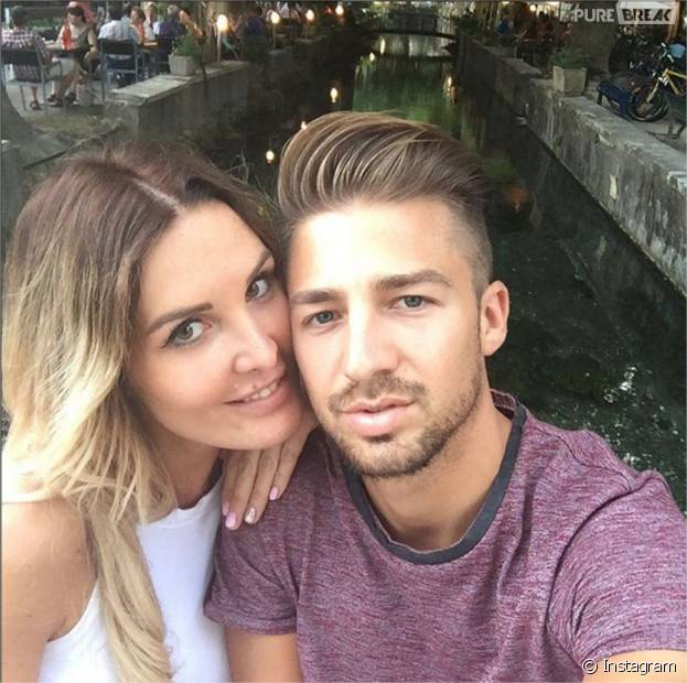 Marie Garet et Romuald en couple