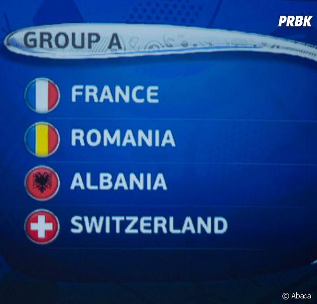 Euro 2016 : un groupe favorable pour l'Equipe de France avec la Suisse, Roumanie et l'Albanie