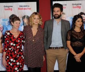 à l'avant-première du film Et ta soeur à Paris,le 14 décembre 2015
