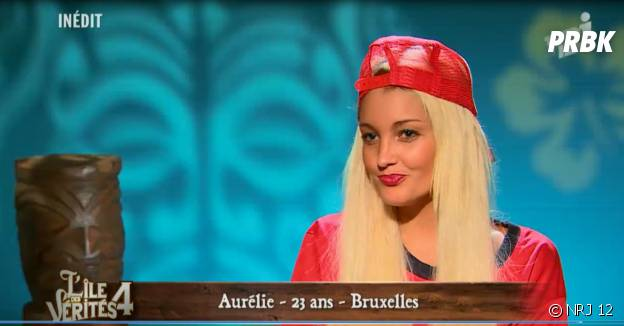 Aurélie Dotremont dans L'île des vérités 4
