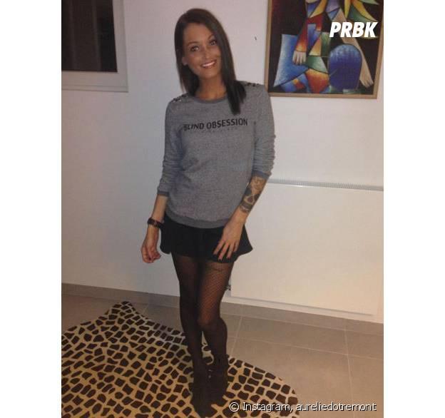 Aurélie Dotremont devenue brune en 2015