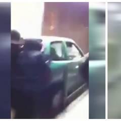 WTF : des jeunes jettent une voiture dans le métro de Bruxelles ! (VIDEO)