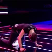 Quentin Mosimann : la vidéo de sa chute mémorable dans The Voice Belgique