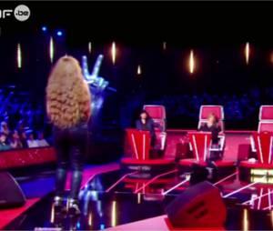 Quentin Mosimann chute dans The Voice Belgique