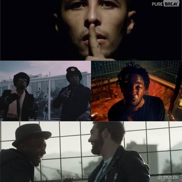 Soprano et Kendji Girac, Alpha Wann et S.Pri Noir, Zaz, Hayce Lemsi et Volts Face, Kendrick Lamar dans les meilleurs clips de la semaine, janvier 2016