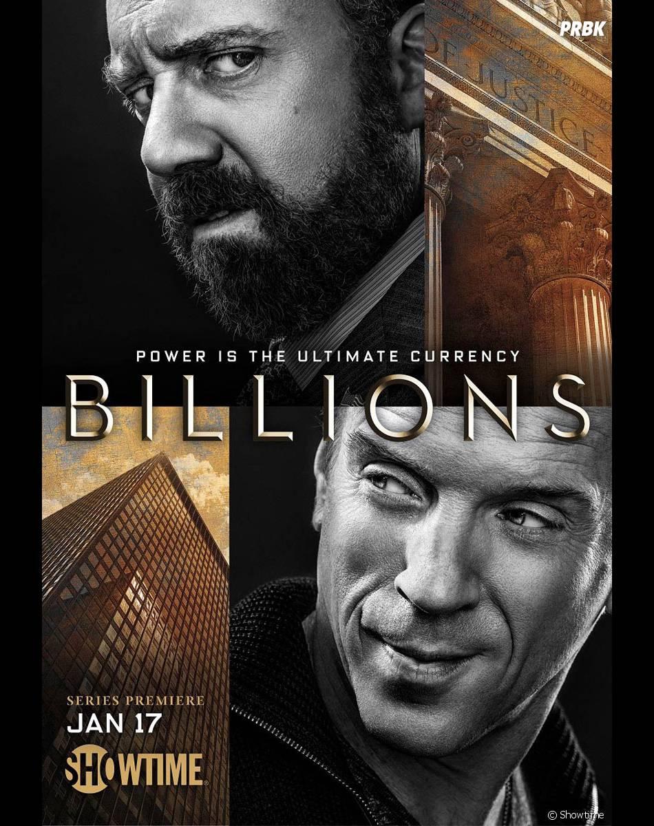 Billions : l'affiche de la série