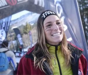 Laury Thilleman sportive et courageuse à la Spartan Winter Race de Valmorel, le 23 janvier 2016