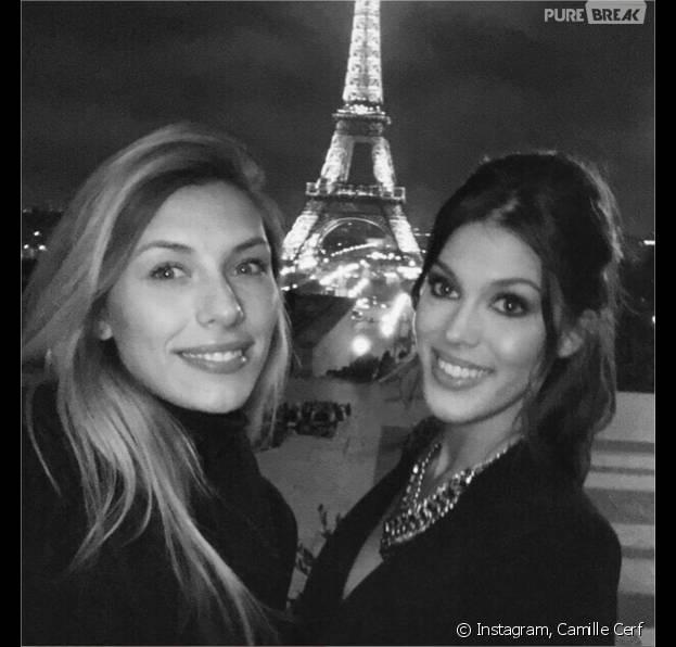 Iris Mittenaere fête ses 23 ans : Camille Cerf lui souhaite un bon anniversaire sur Instagram