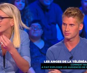 Amélie Neten et Benoît Dubois taclent la télé-réalité dans Derrière le poste, le 29 janvier 2016, sur D8