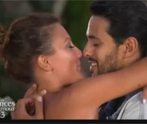 Les Princes de l'amour 3 : Gabano et Clémence s'embrassent