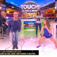 Clio Pajczer : sa nouvelle séance de sport sexy dans TPMS avec Jarry