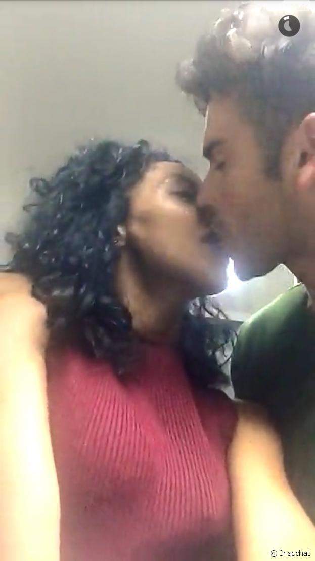 Les Anges 8 : Ricardo et Nehuda s'embrassent sur Snapchat