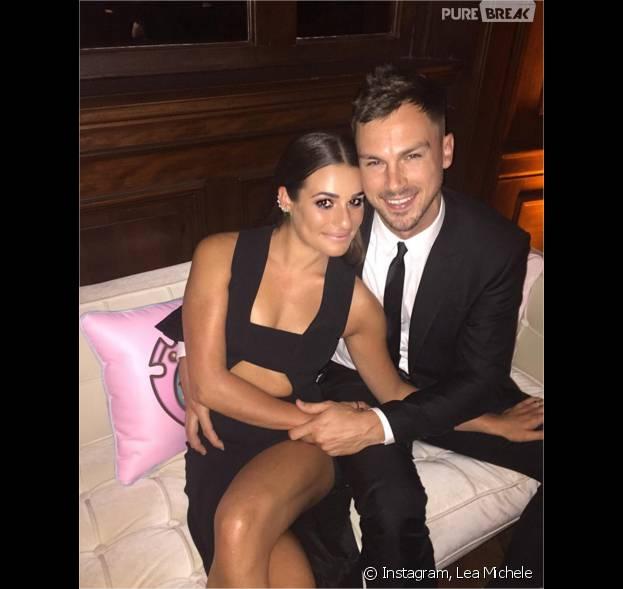 Lea Michele célibataire après sa rupture avec Matthew Paetz