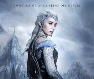 Le Chasseur et la reine des glaces : Emily Blunt sur une affiche du film