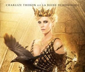 Le Chasseur et la reine des glaces : Charlize Theron sur une affiche du film