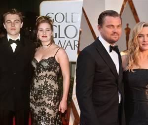 Leonardo DiCaprio et Kate Winslet en 1998 et 2016 : l'avant/après