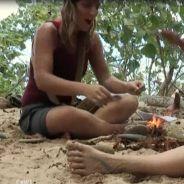The Island 2 : les femmes allument un feu avec une serviette hygiénique et bronzent topless