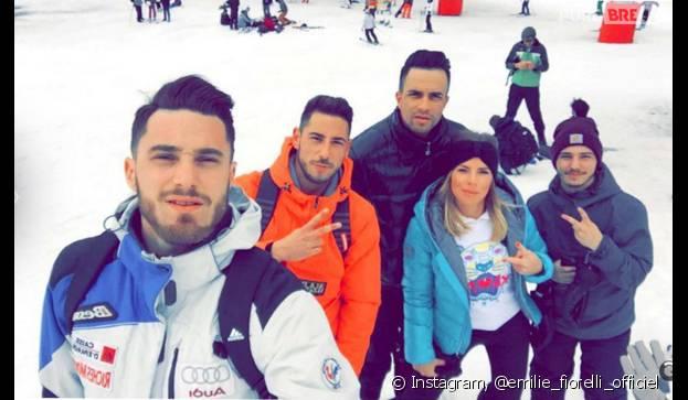 Emilie Fiorelli (Secret Story 9) : au ski avec ses potes et son chéri