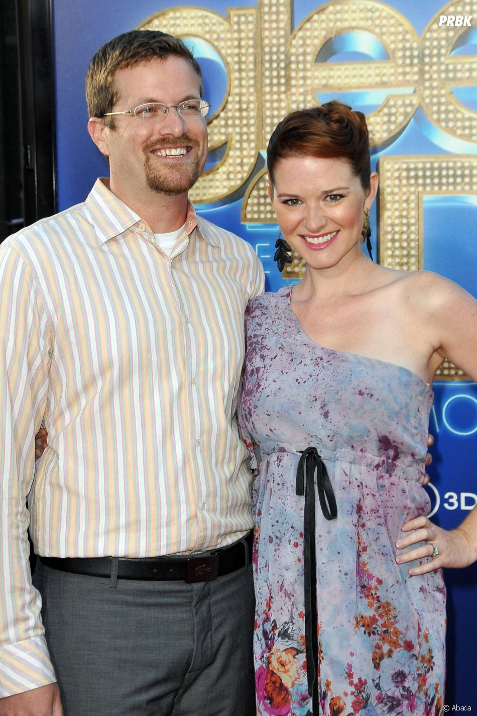 Sarah Drew et son mari Peter Lanfer en 2011