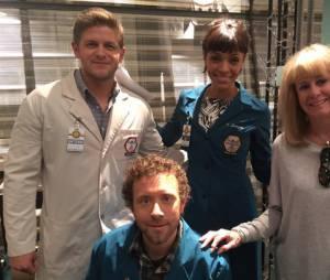 Bones saison 11 : Kathy Reichs sur le tournage avec les acteurs