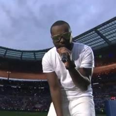 Maitre Gims hué comme jamais au stade de France pour la finale de la Coupe de la Ligue